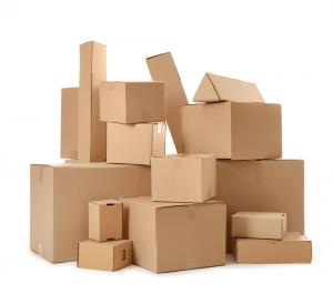 Cardboard Boxes of Various Sizes