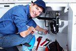 Plumbing business worker